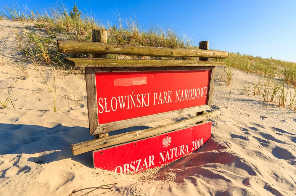 morze bałtyckie - słowiński park narodowy