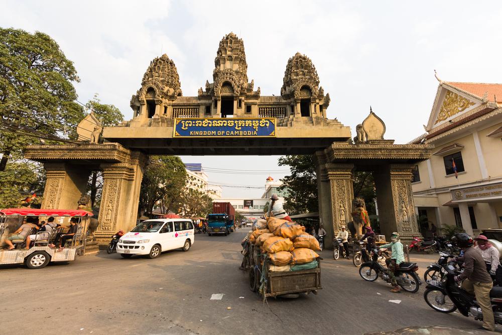 Przejście graniczne Tajlandia-Kambodża w Poipet