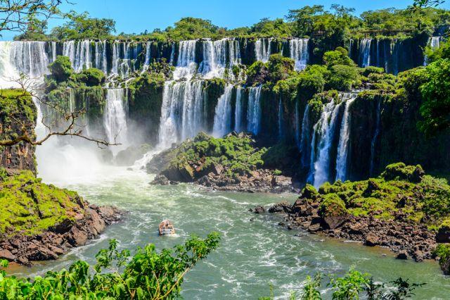 Wodospady Guaira